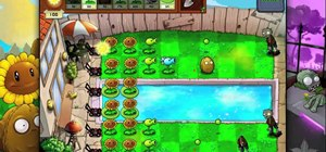 Beat level 3-1 of Plants vs Zombies HD for the iPad