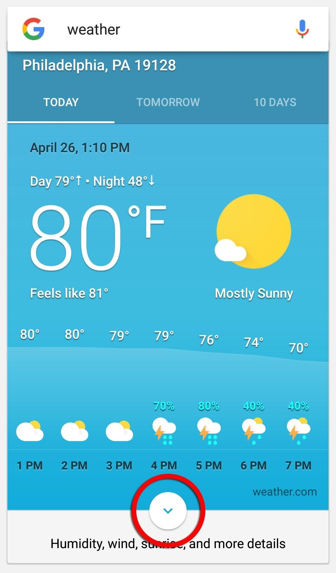 how to get google s hidden weather app on your home screen android
