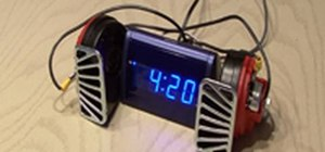 Make the world's loudest alarm clock