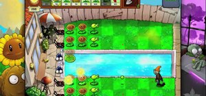Beat level 3-6 of Plants vs Zombies HD for the iPad
