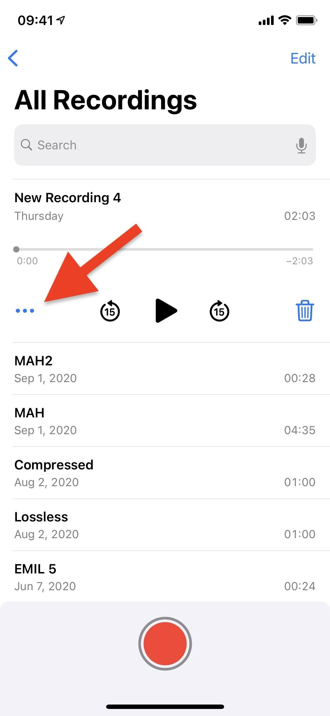 How to reduce background noise and echoes for higher quality voice memos in iOS 14