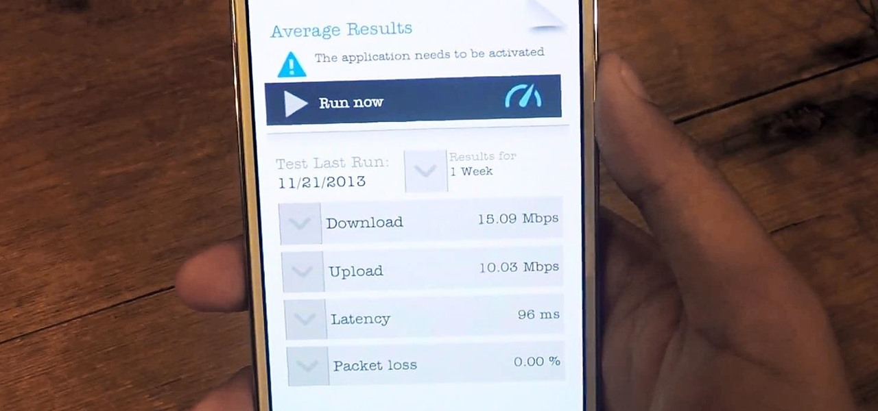 Measure Mobile Data & Wi-Fi Speeds on Your Samsung Galaxy Note 2 or Note 3