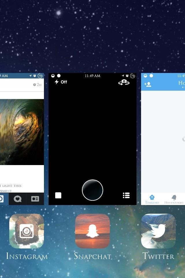 How to Close ALL Running Background Apps at the Same Time in iOS 7
