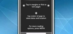 Read eBooks on a Google Android smartphone with the Amazon Kindle app