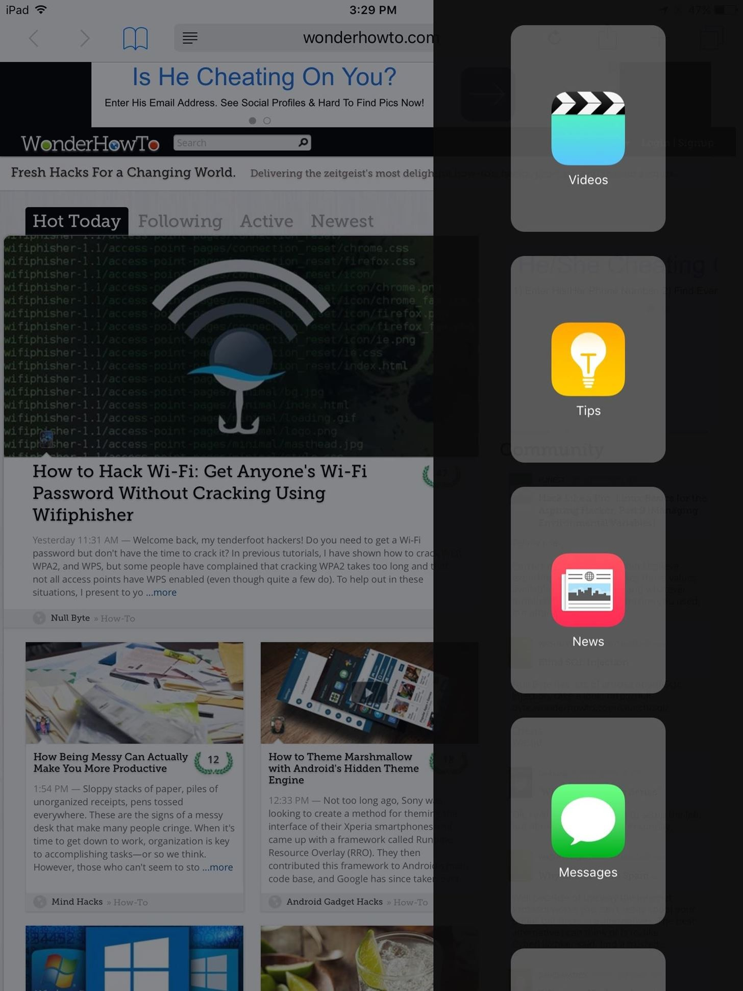 How to Use Split View Mode on Any iPad Model « iOS & iPhone
