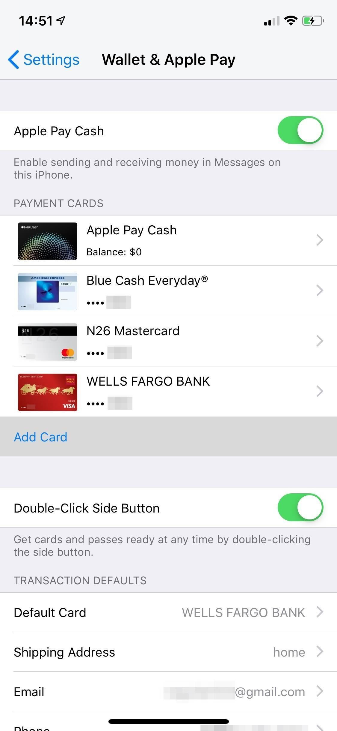 Add & Remove Debit & Credit Cards for Apple Pay on Your iPhone