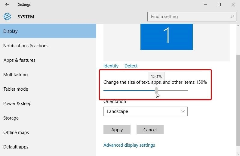 How to Change Font Size in Windows 10 « Windows Tips