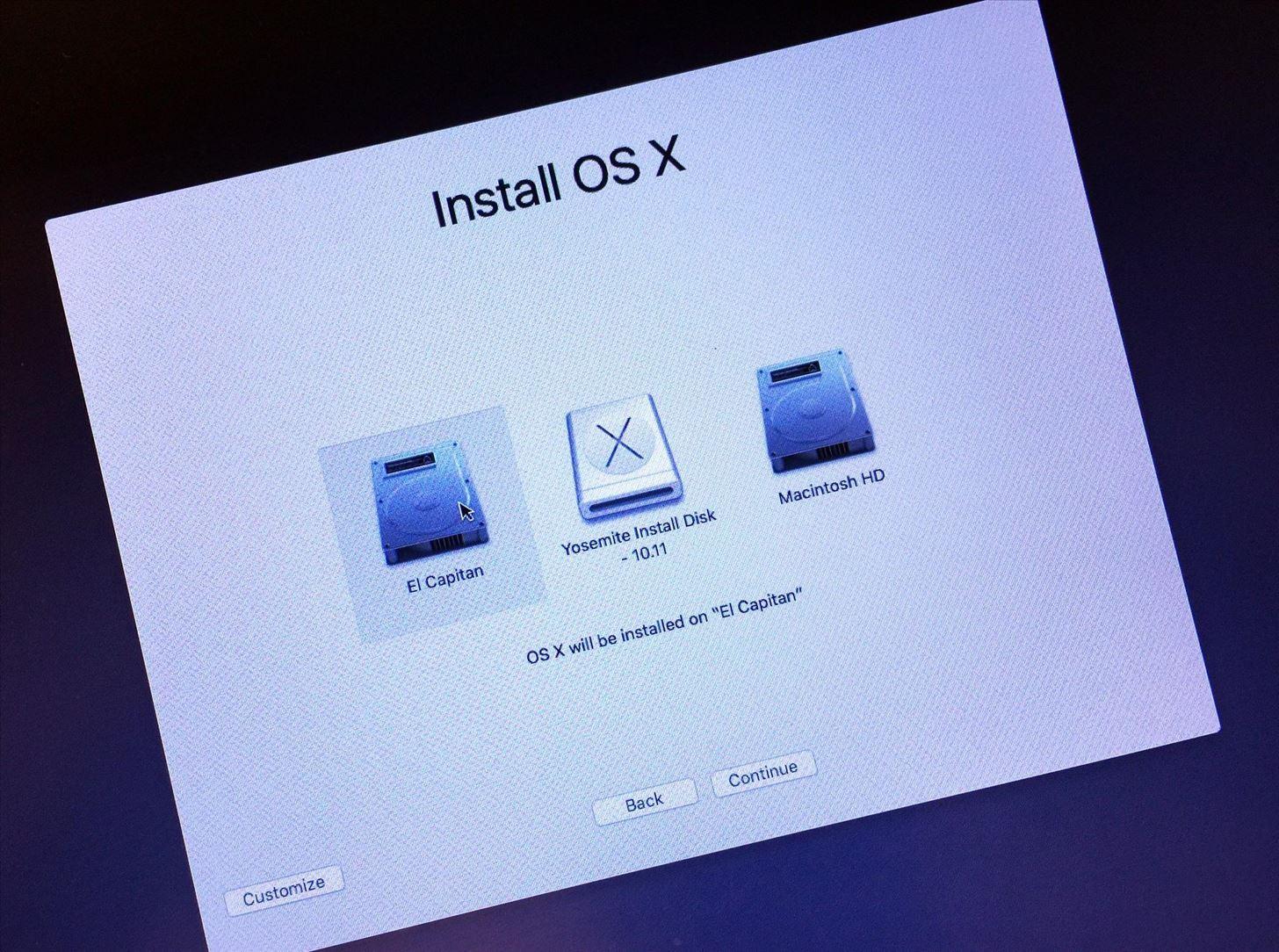 How to Create a Bootable Install USB Drive of Mac OS X 10.11 El Capitan