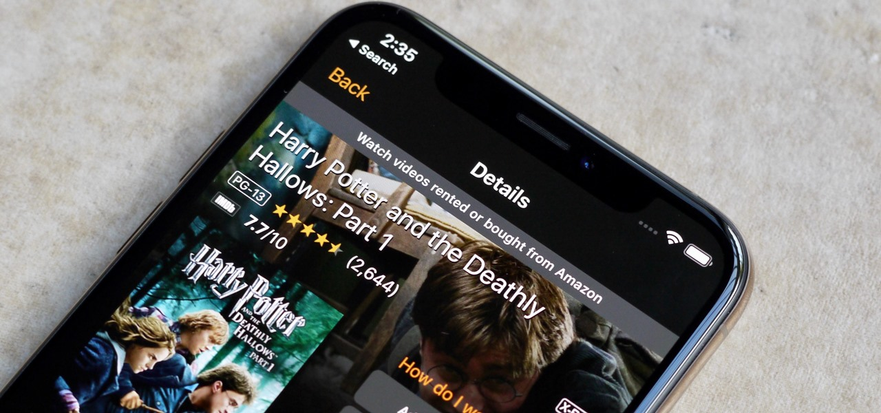 Buy Movies & TV Shows from Amazon Prime Video on Your iPhone