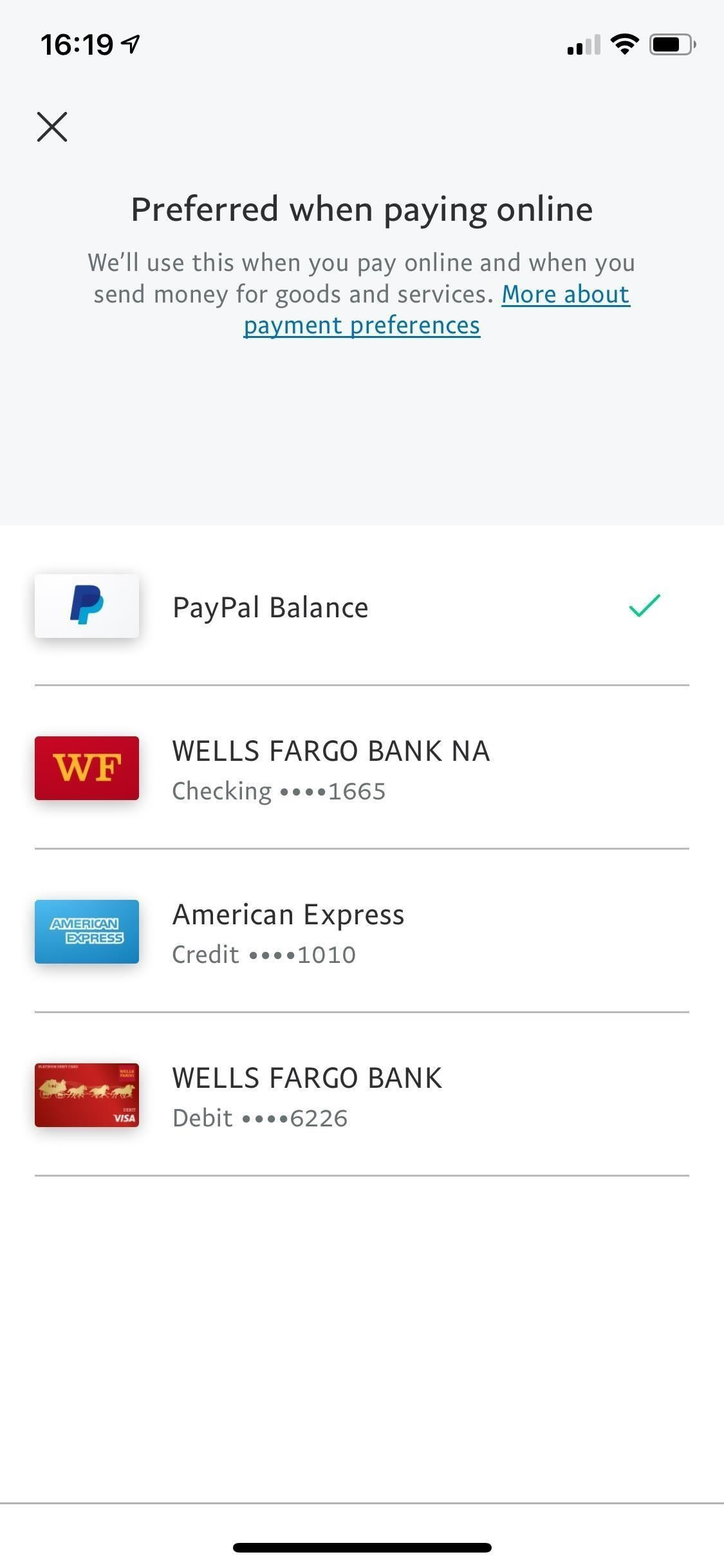 How to Change Online, In-Store, Google Pay, Samsung Pay