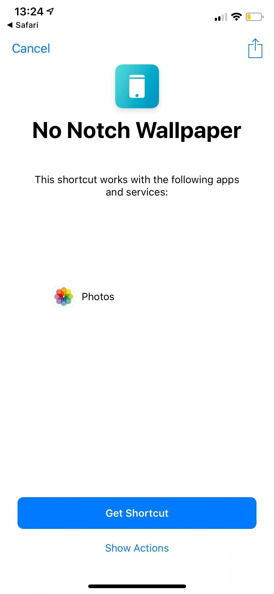 Use This Shortcut to Turn Any Photo into a Notch-Hiding Wallpaper on Your iPhone