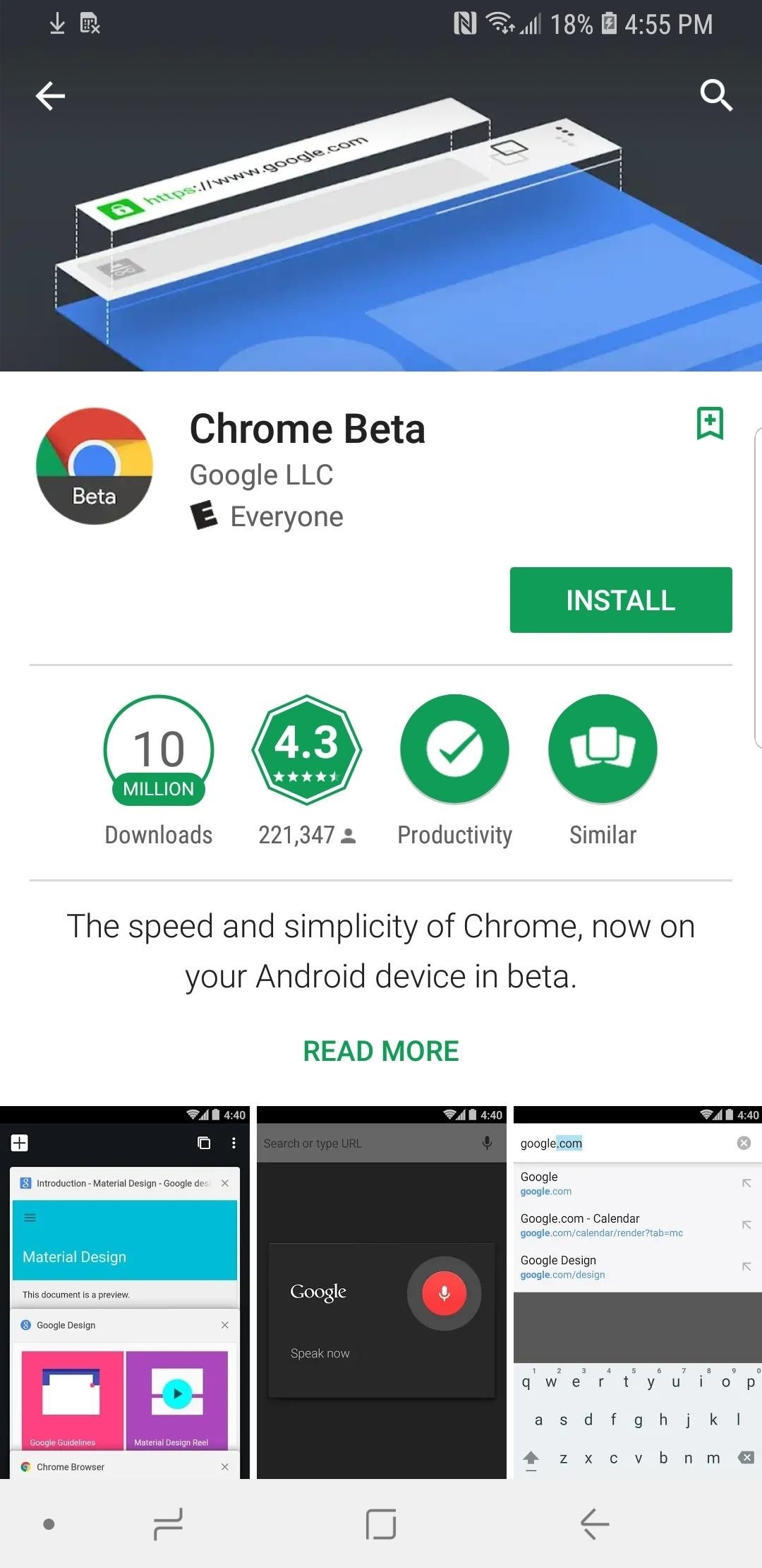 Google Chrome 101: How to Install the Beta Browser on iPhone & Android ...
