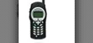 Operate the Motorola Nextel i305 mobile phone