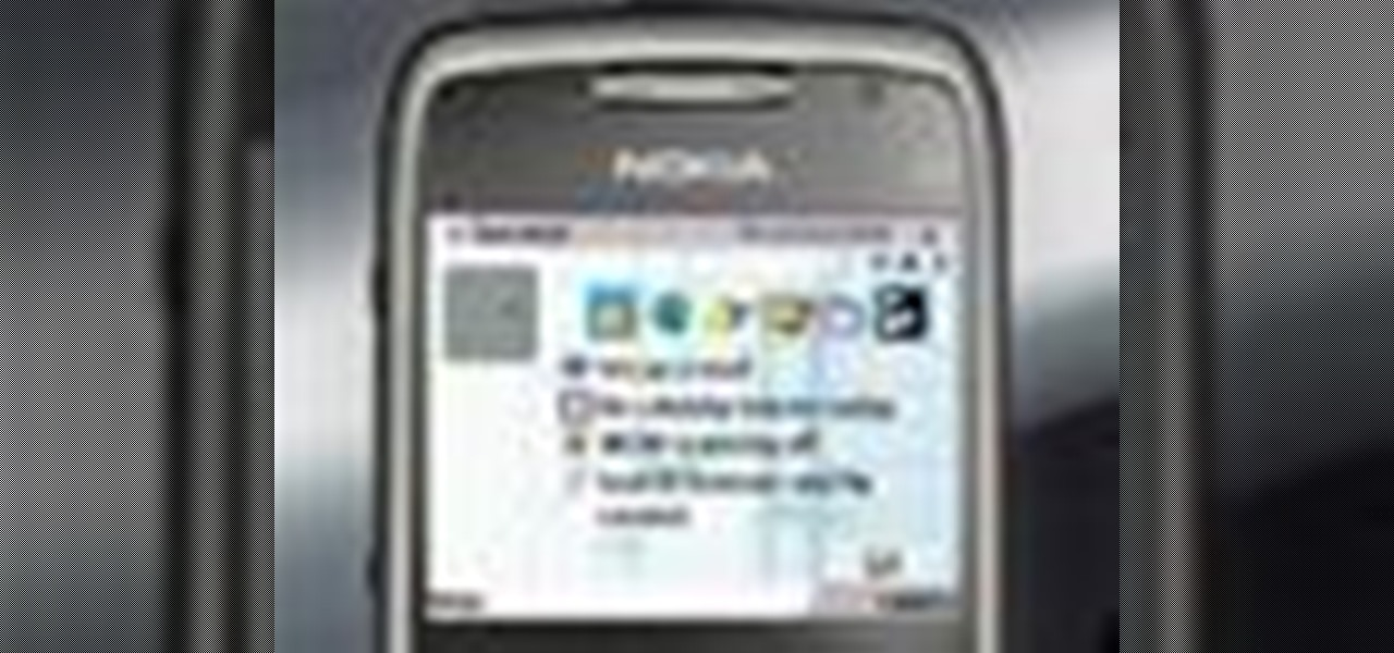 how to use the nokia e71 cell phone smartphones. Black Bedroom Furniture Sets. Home Design Ideas
