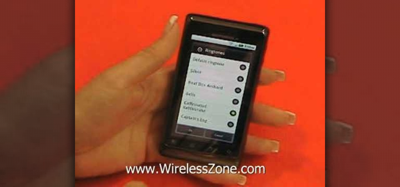 How to Send and read SMS text messages on a Motorola Droid 2