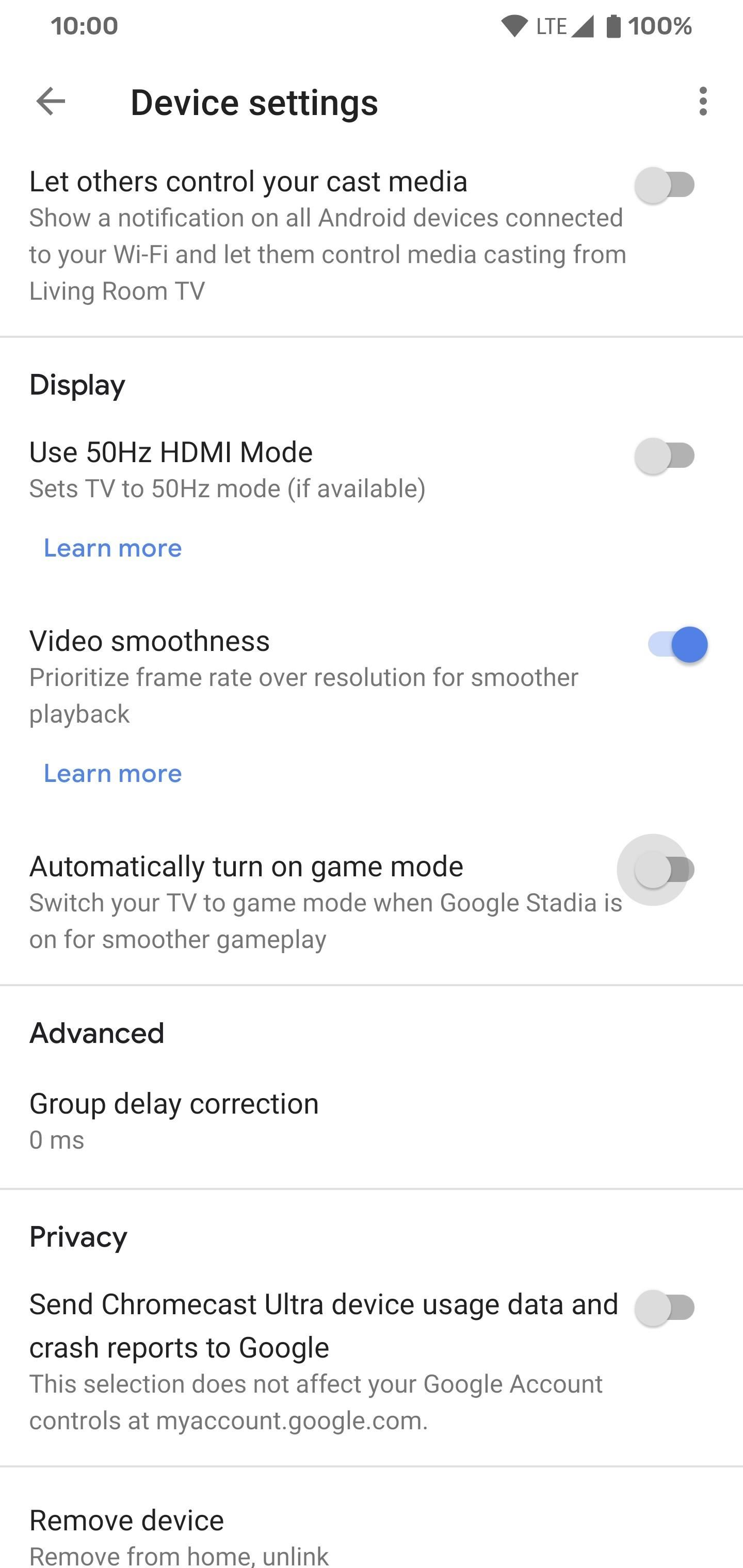 Your Chromecast Ultra Has a Game Mode Feature for Stadia Streaming