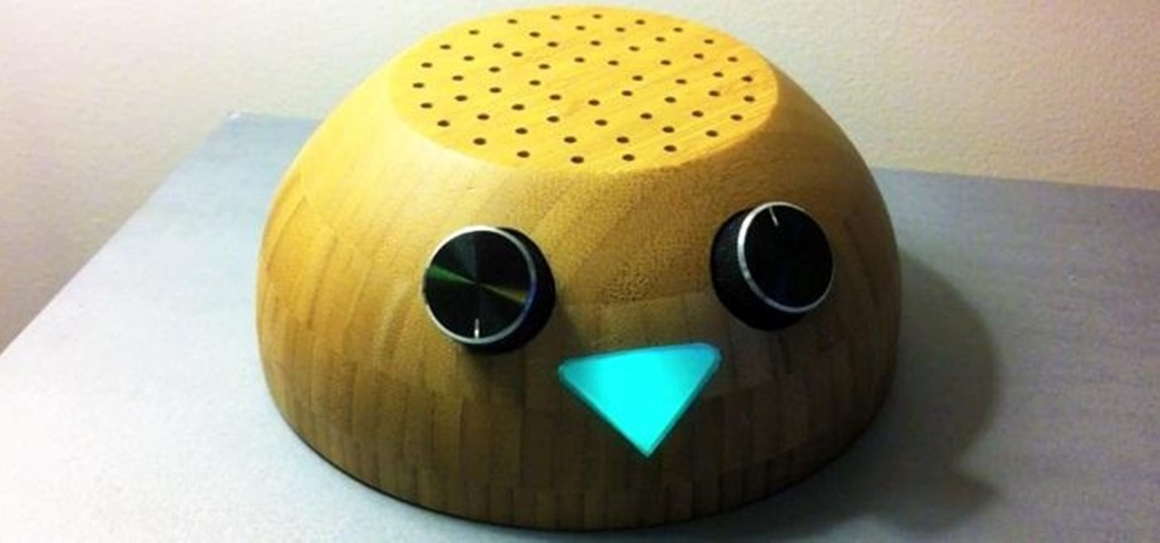"This Adorable DIY 'Magpi Radio"" Twitter Bird Reads Your Tweets Out Loud for You"