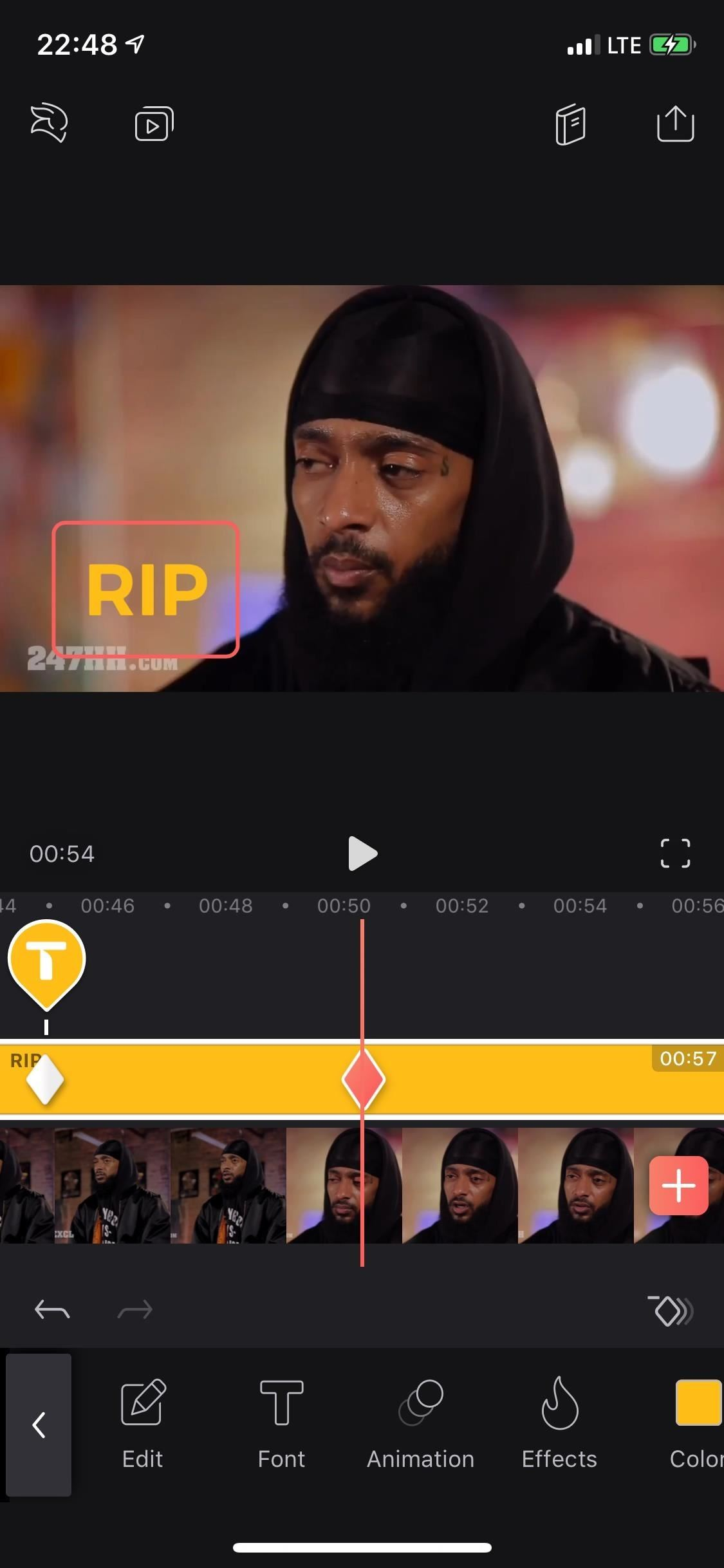 How to Add, Customize & Animate Text Layers in Your Videos with Enlight Videoleap for iPhone