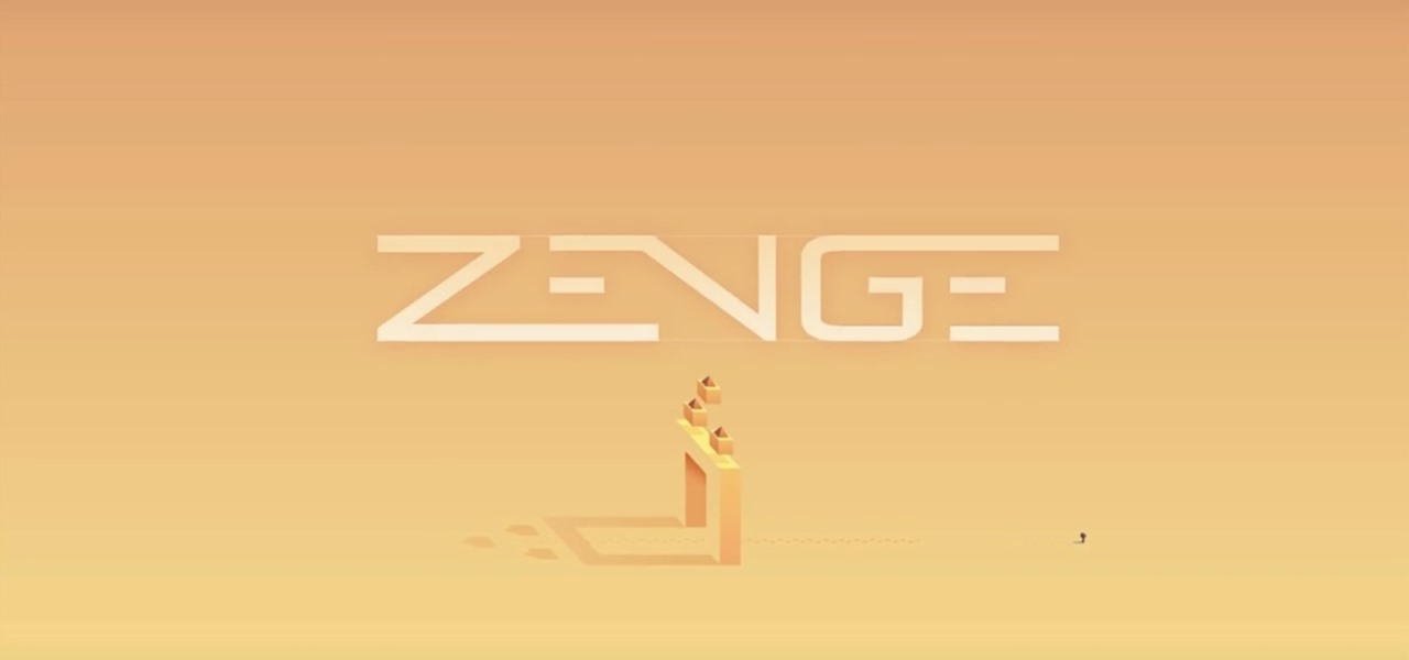Zenge Is a Puzzle Game with a Creative Twist