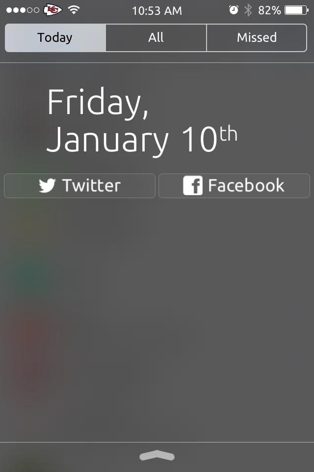 How to Tweet or Post to Facebook Directly from iOS 7's Notification Center on Your iPhone