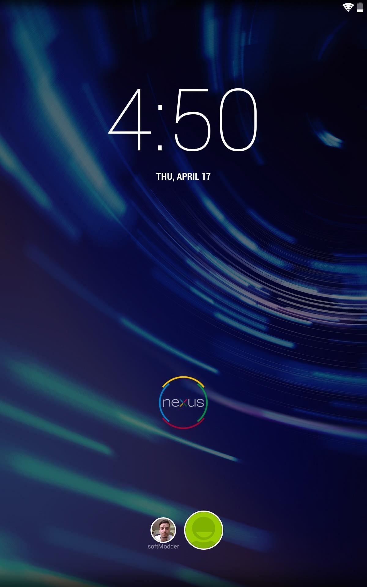 Trick Out Your Nexus 7's Lock Screen with a Custom Lockring Icon