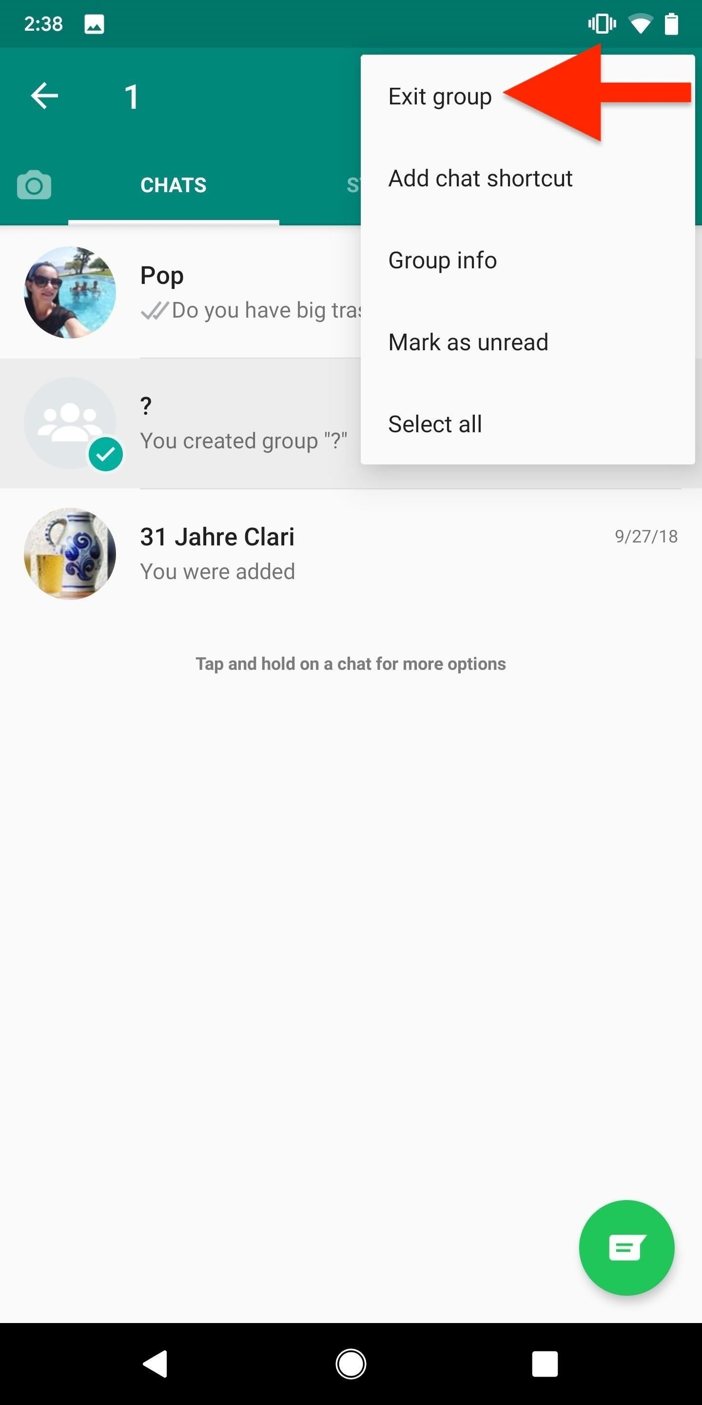 How to Mute or Leave Group Chats in WhatsApp Notifications Never Annoy You
