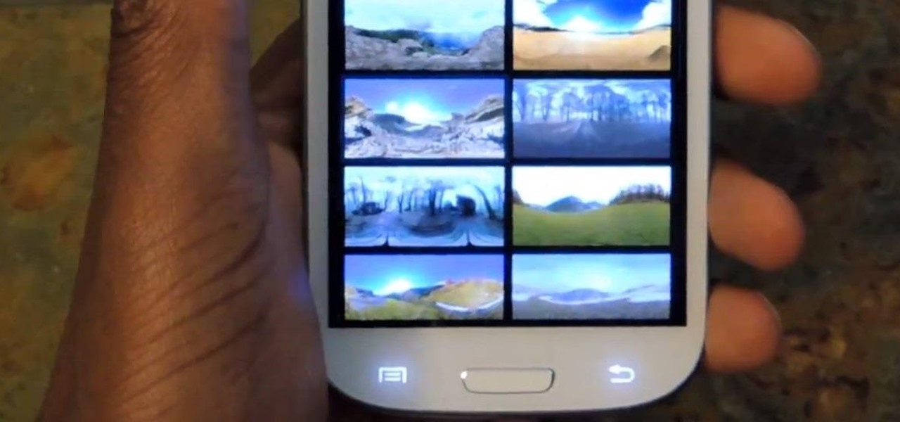 Get Photo Sphere Live Wallpapers on Your Samsung Galaxy S3 (Without Rooting)