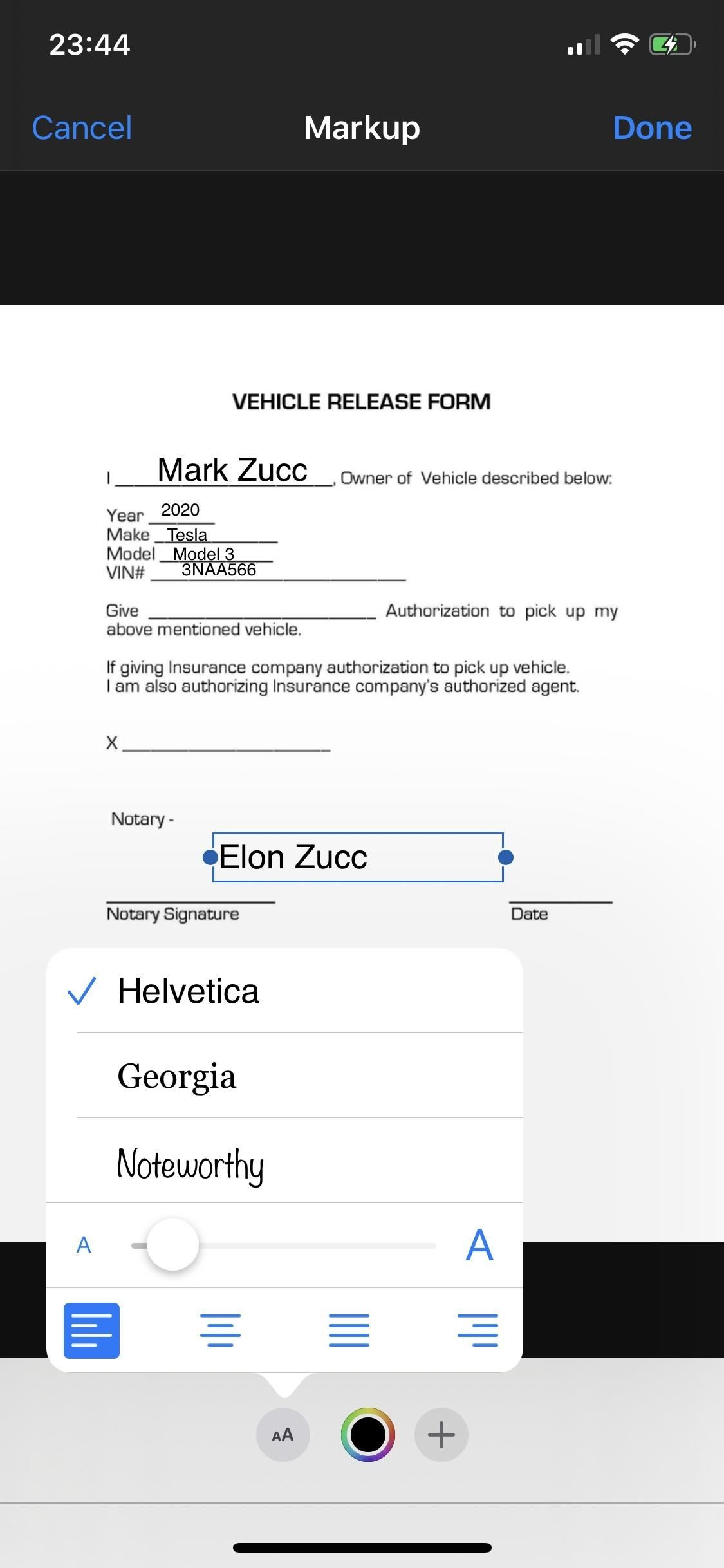 The best ways to electronically fill in documents is to fill out and sign documents on iPhone or Android