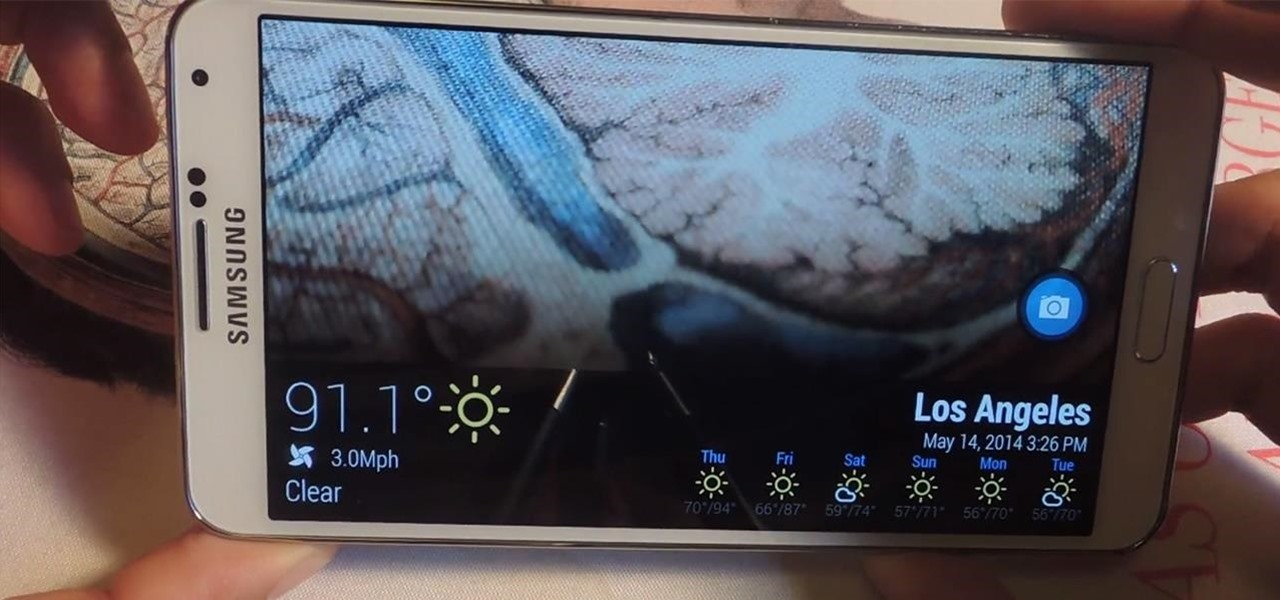 Set Up Weather Alerts for Perfect Beach Temperatures on Your Galaxy Note 3