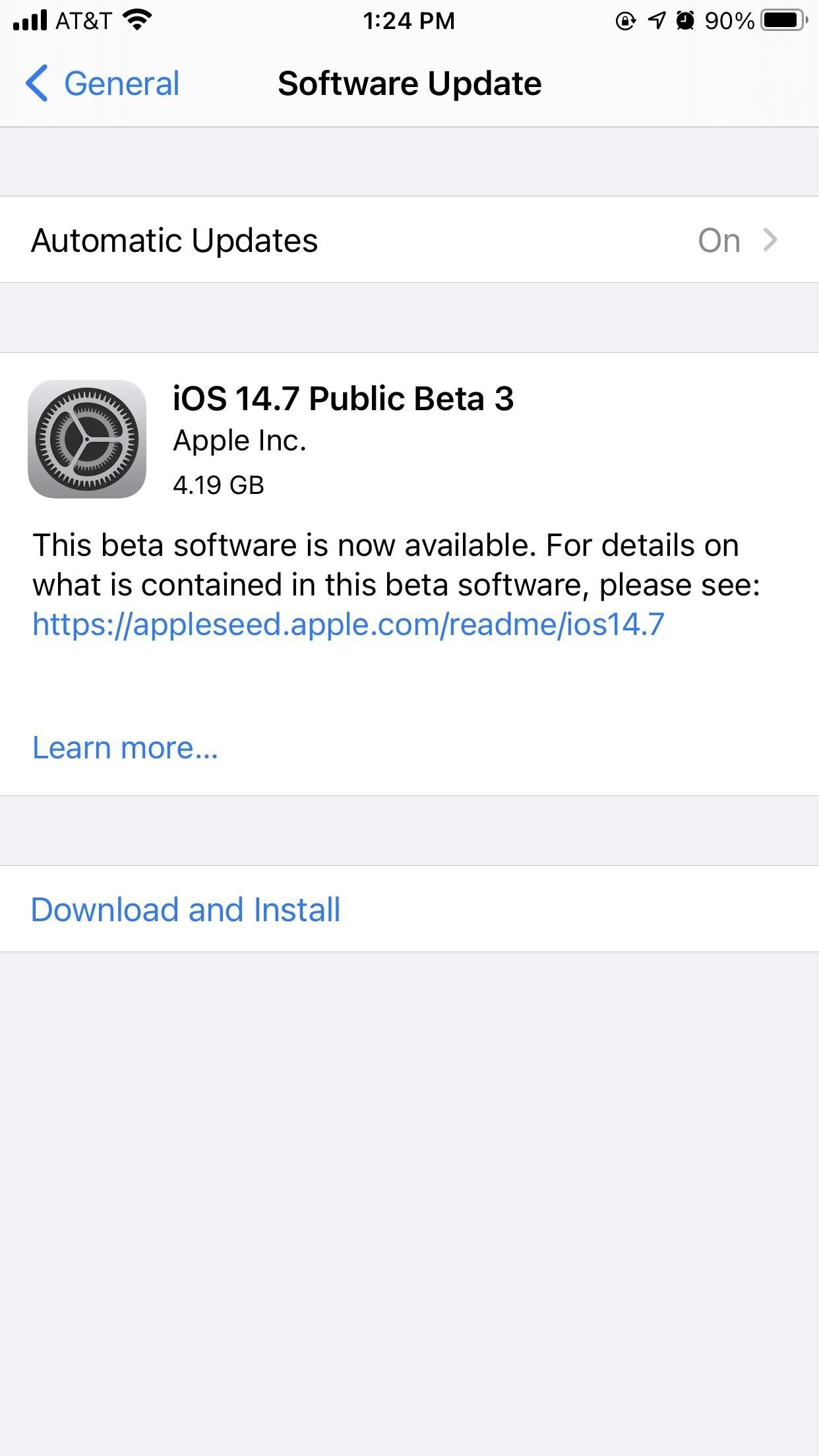 Apple Releases iOS 14.7 Beta 3 for iPhone