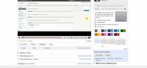 Customize a WordPress-embedded YouTube player