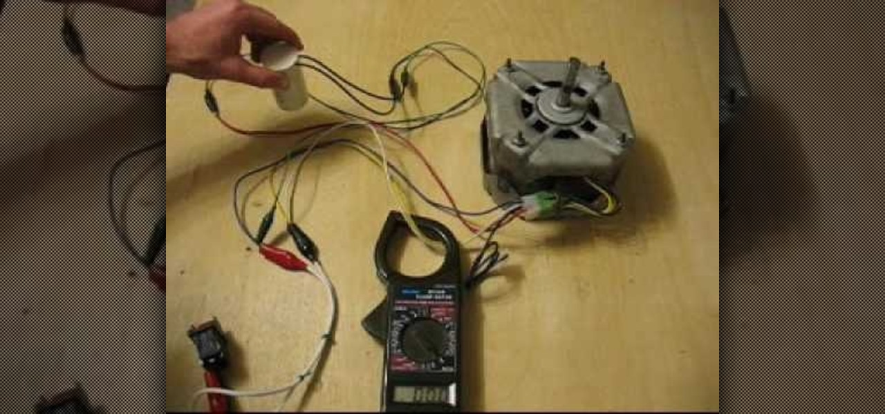 How to Start a single phase induction electric motor « Hacks, Mods ...