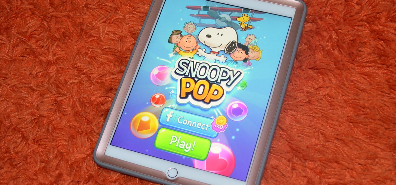 Share the World of Peanuts with Your Kids & Play Snoopy Pop on Your iPhone or Android