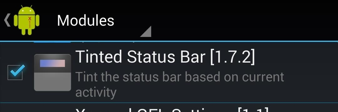 How to Tint Your Status Bar's Color to Match Apps on Your HTC One
