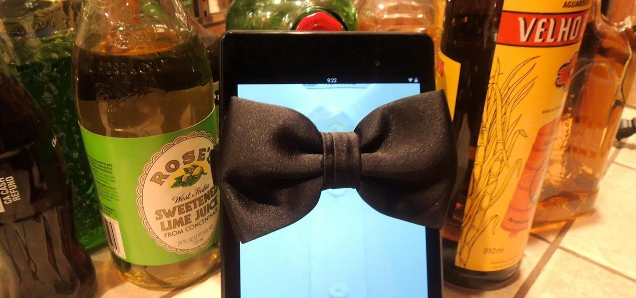 Turn Your Nexus 7 into a Personal Mixologist to Class Up Your Home Bar
