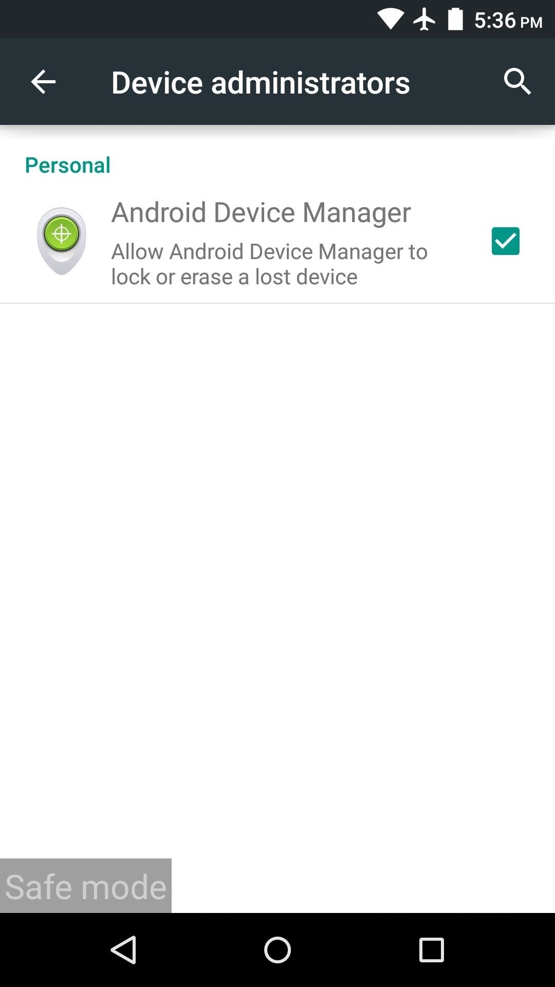 keychain apk safe to remove