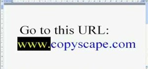 Catch website content thieves with Copyscape.com