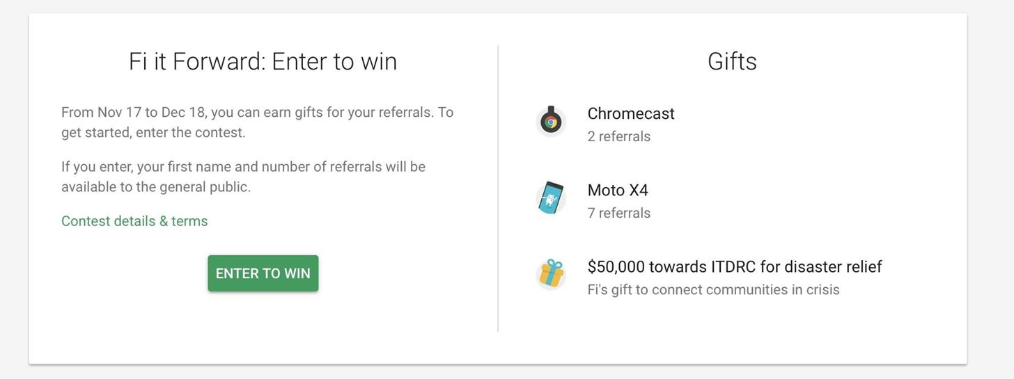 Google's fresh Project Fi Deal Could Net You a Free Moto X4