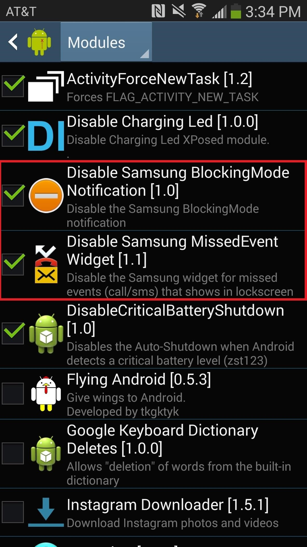 "How to Disable the Missed Event Widget & ""Blocking Mode On"" Notification for the Galaxy Note 3"