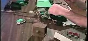 Glitch or circuit bend a Nintendo gaming console