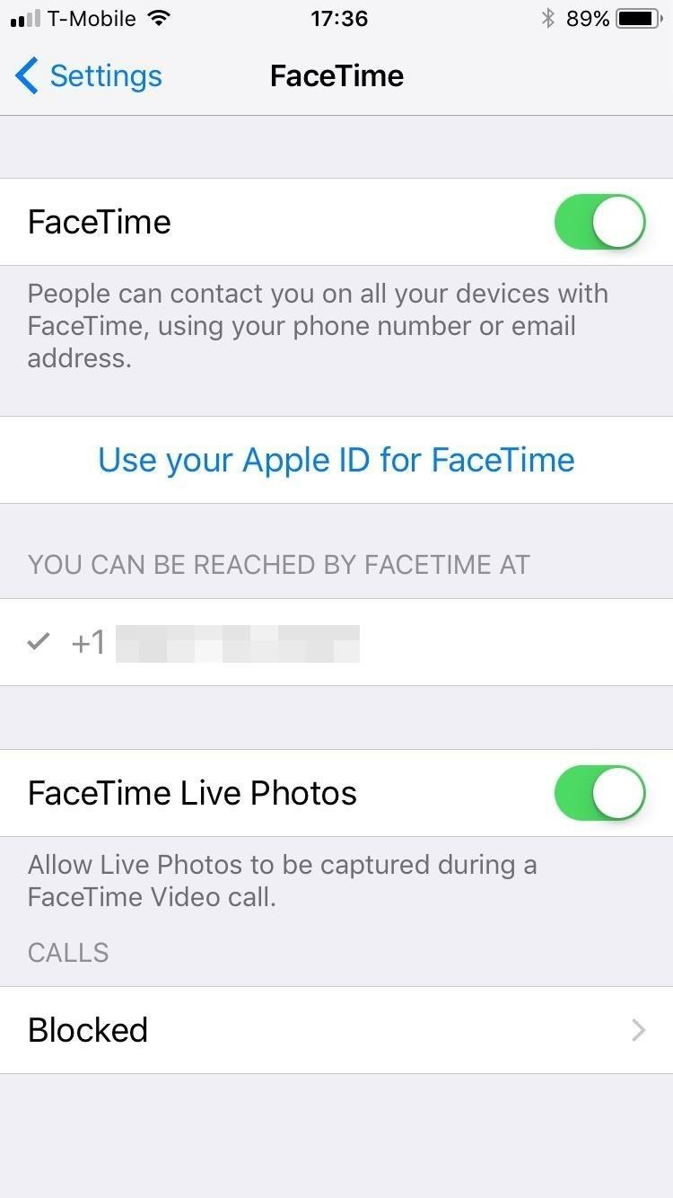 Take Live Photos of FaceTime Video Calls in iOS 11 (& Protect Yourself from Getting Recorded)