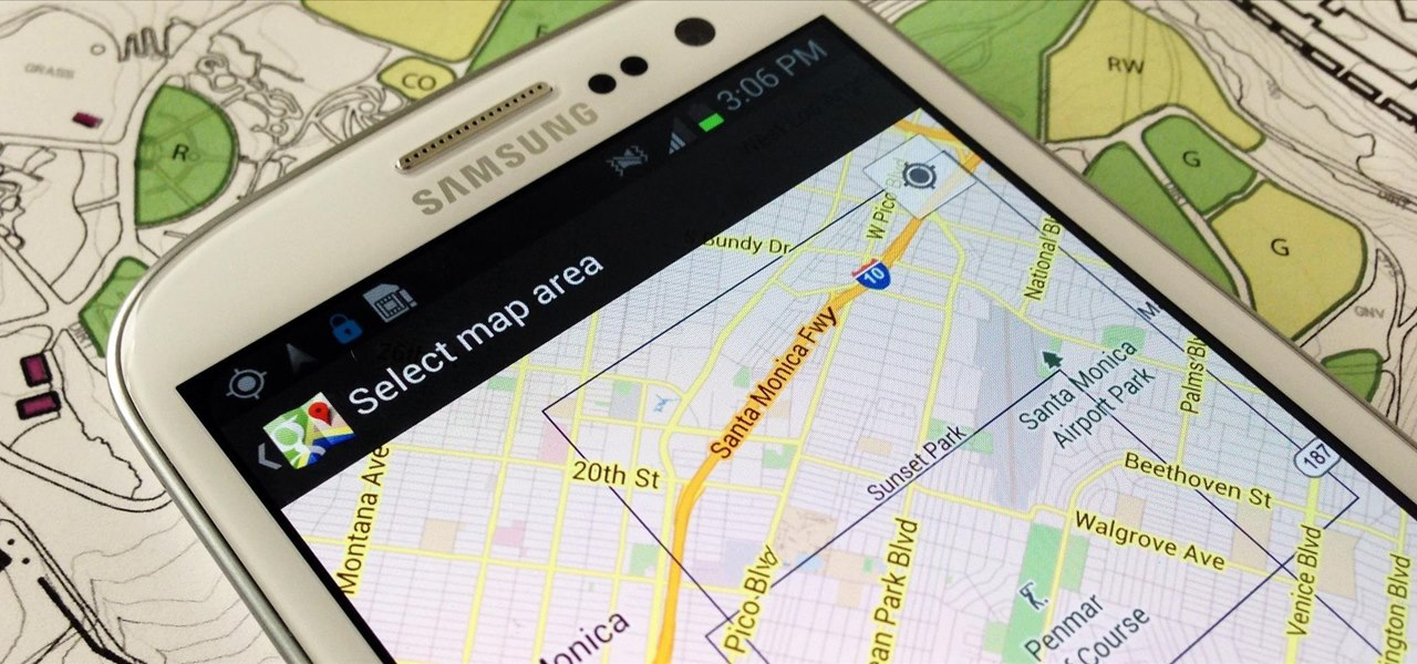 Save Battery Life & Never Get Lost Again with Offline Maps & Directions on Your Samsung Galaxy S3