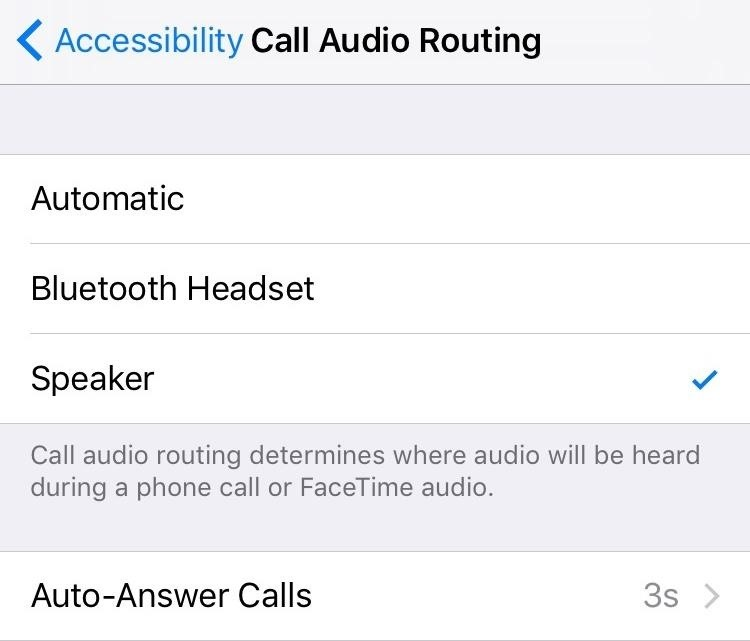 Automatically Answer Phone Calls on Your iPhone in iOS 11