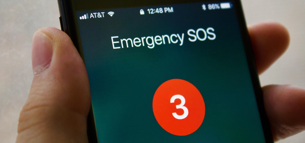 Use the Emergency SOS Shortcut on Your iPhone in iOS 11