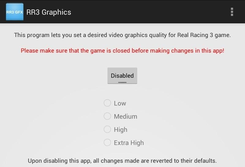 How to Mod Real Racing 3 for Higher Quality Graphics on Your Nexus 7