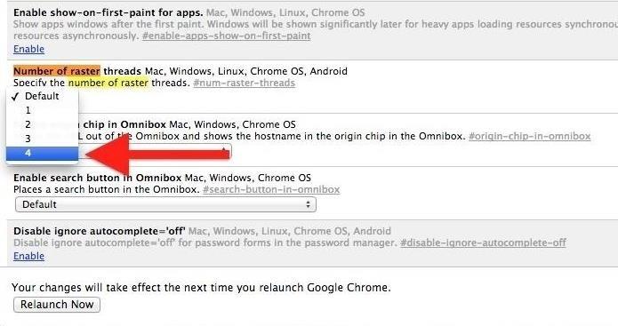 Increase internet speed google chrome