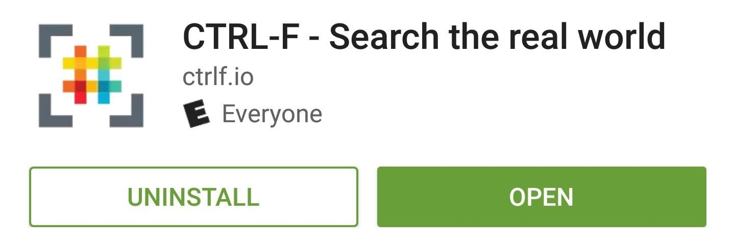 Use Your Android Smartphone as a Real-World Search Engine