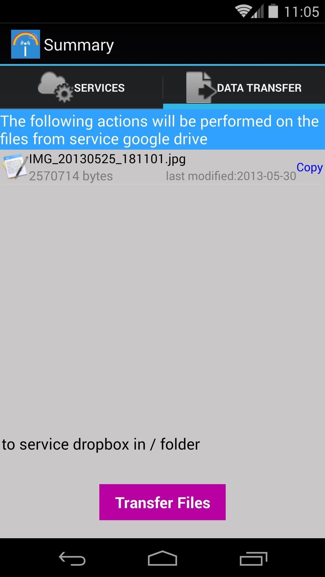 The Easiest Way to Transfer Files Between Different Cloud Service Accounts on Android