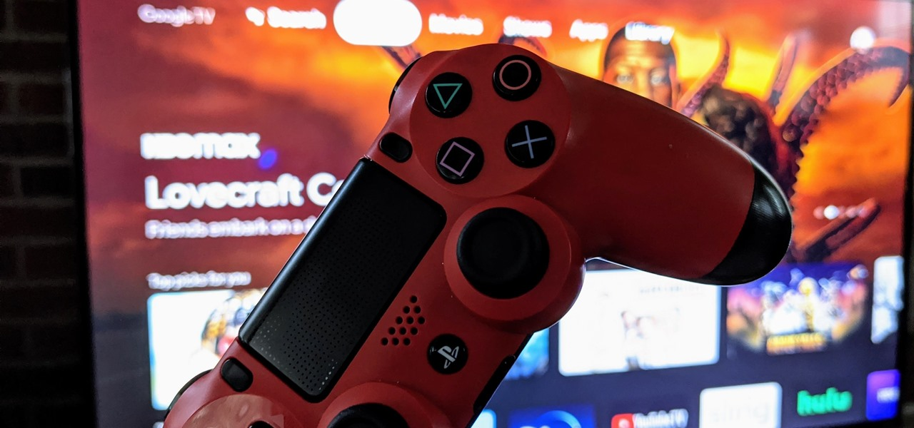 Pair a PlayStation 4 DualShock Controller to Your Chromecast with Google TV