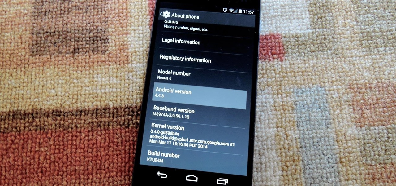 Update Your Rooted Nexus to Android 4.4.4 Without Losing Any Data (Update)